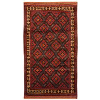 Handmade Balouchi Wool Rug (Afghanistan) - 2'10 x 5'
