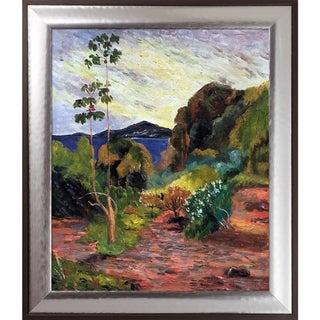 Paul Gauguin 'Martinique Landscape, 1887' Hand Painted Oil Reproduction