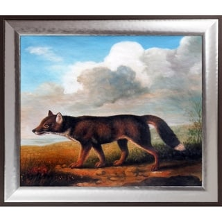George Stubbs 'Portrait of a Large Dog' Hand Painted Oil Reproduction