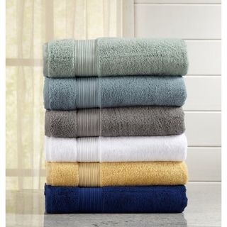 Home Fashion Designs Grace Collection 6-Piece Luxury Hotel / Spa 100% Turkish Cotton Towel Set