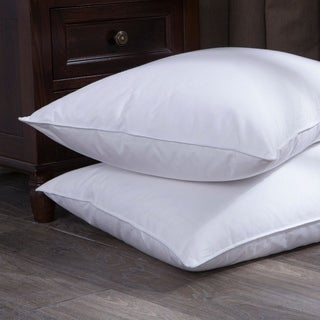 St. James Home White Goose Down and Feather Bed Pillow (Set of 2)