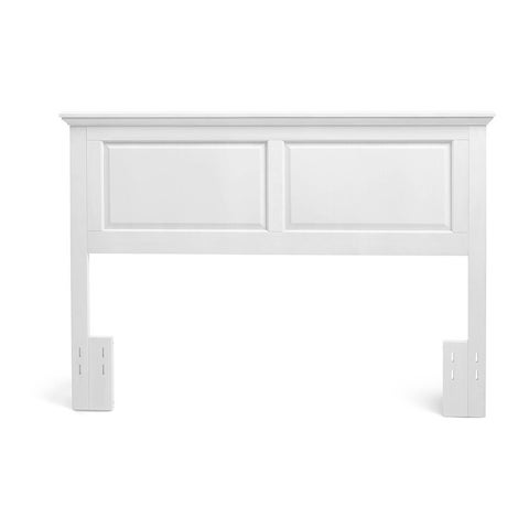 Mantua Gloss White Finish Arcadia Headboard
