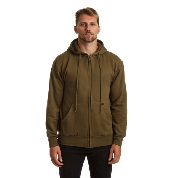 Stanley men 39 s big and tall thermal lined fleece hoodie for Big and tall lined flannel shirts