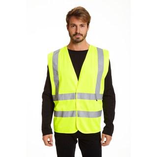 Stanley Men's Hi Vis Safety Vest 2 Pack