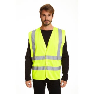 Stanley Men's Hi Vis Safety Vest 2 Pack