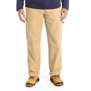 Stanley Men's Big and Tall Canvas Fleece Lined Carpenter Pant https://ak1.ostkcdn.com/images/products/17767232/P23965589.jpg?_ostk_perf_=percv&impolicy=medium