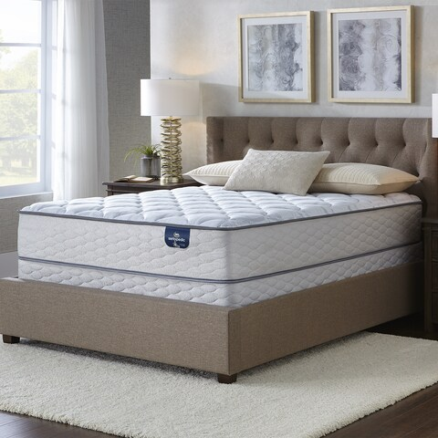 Serta Faircrest 10.5-inch Plush Twin-size Mattress