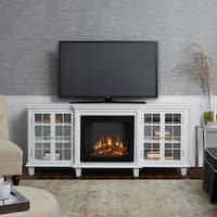 Marlowe Electric Fireplace White by Real Flame