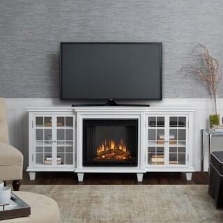 Marlowe Electric Fireplace White