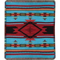 Manual Woodworkers Flame Bright Tapestry Throw