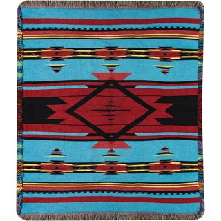 Manual Flame Bright Tapestry Throw