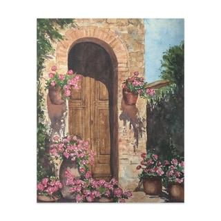 Door Handmade Paper Print