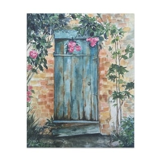 Wood Door Handmade Paper Print