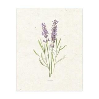 Lavender Handmade Paper Print