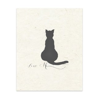 Love Me Handmade Paper Print (2 options available)