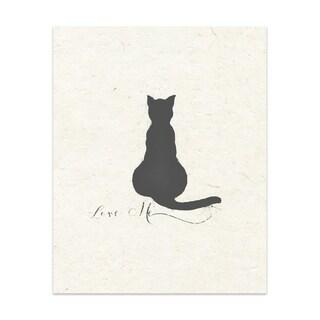 Love Me Handmade Paper Print