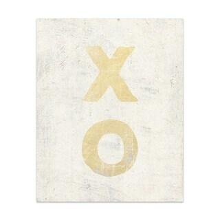 Xo Handmade Paper Print