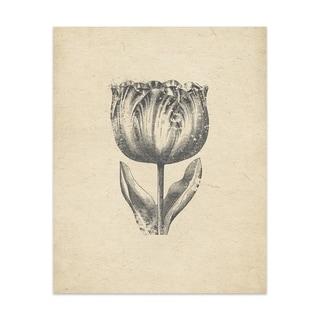 Rose Handmade Paper Print