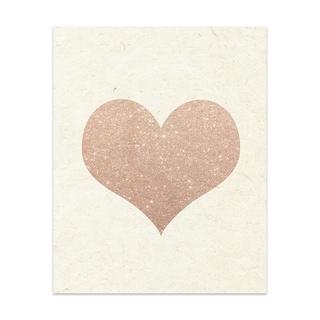Heart Handmade Paper Print