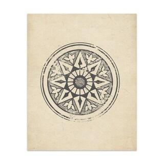 Star Wheel Handmade Paper Print