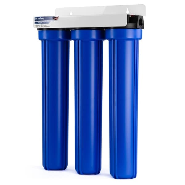 ispring 3 stage 20 whole house water filter system - Whole House Water Filtration System
