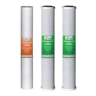 iSpring Water Filter Replacement Pack for Whole House System20''x2.5''
