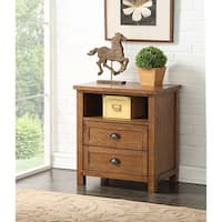 Ellison Two Drawer Nightstand by Greyson Living