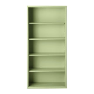 Hirsh 5-Shelf Metal Bookcase