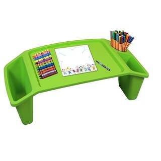 Kids Lap Desk Tray, Portable Activity Table (Option: Green)