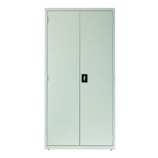 Hirsh 5-Shelf Storage Cabinet 18-inch Deep Light Gray