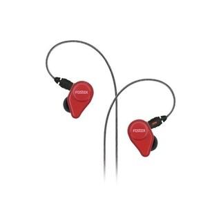 Fostex TE04 Stereo Earphones, Red
