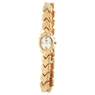 Ladies Black Hills Gold Watch with Mother-of-Pearl face