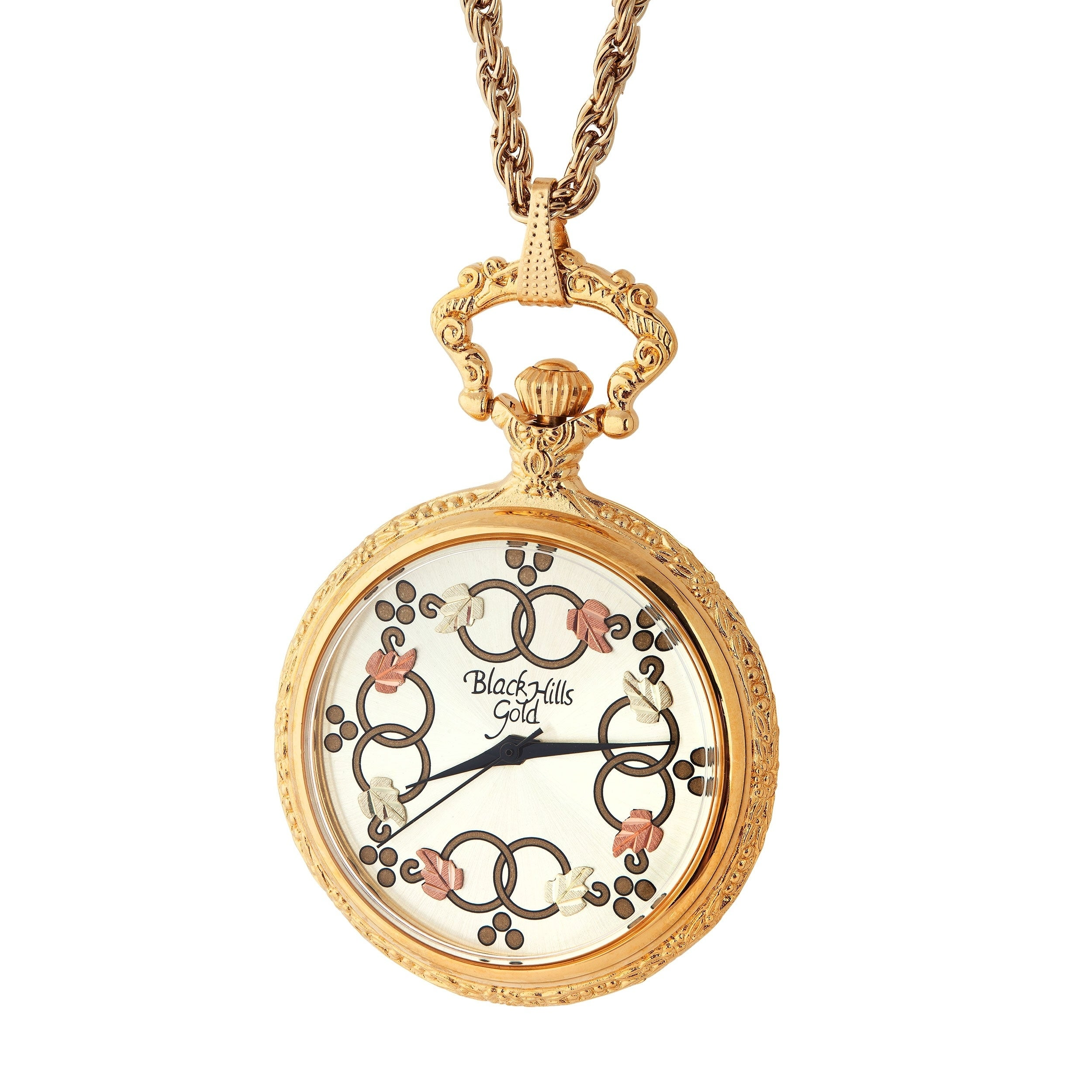 Ladies black hills gold pendant watch ebay ladies black hills gold pendant watch aloadofball Image collections