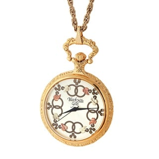 Ladies Black Hills Gold Pendant Watch