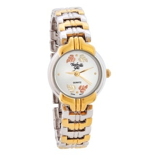 Ladies Two-Tone Black Hills Gold Watch