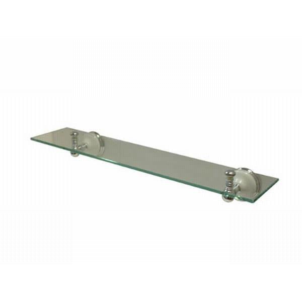 Glass Chrome Shelf