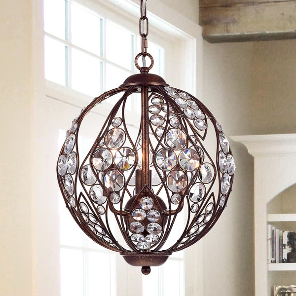 Shop Warehouse Of Tiffany Drusia Rustic-finished Iron And