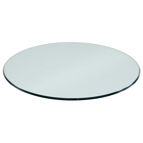 """Sorra 36"""" Round Non-Tempered Table Top Glass"""
