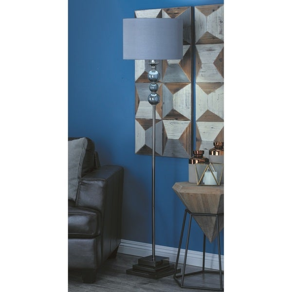 Urban Designs Spheres Glass Ball 64-inch Floor Lamp