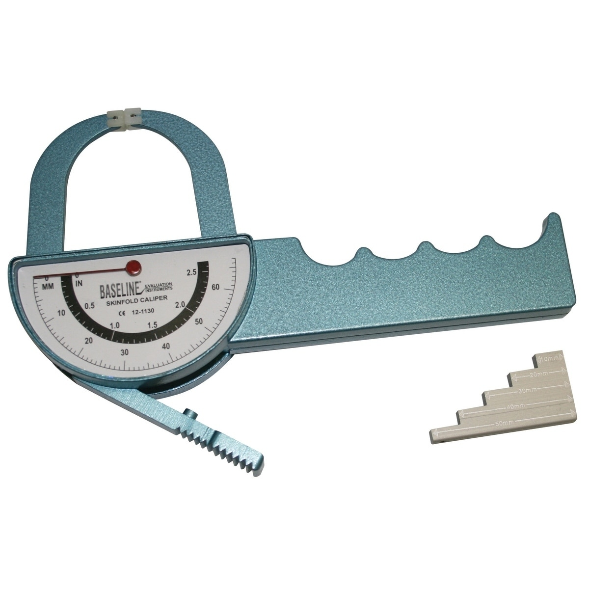 Baseline 2-Sided Medical Skinfold Caliper w/Case, Silver ...