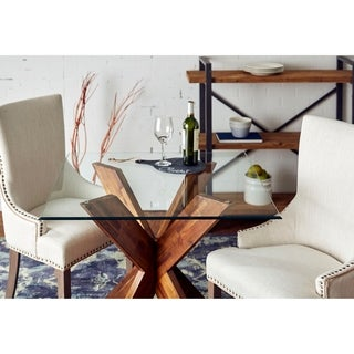 "Sorra 42"" Square Non-Tempered Table Top Glass"