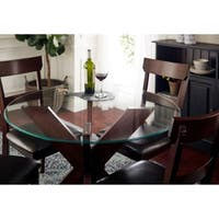 """Sorra 36"""" Round Tempered Table Top Glass"""