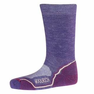 Woolrich Unisex Merino Lambswool Hiking Crew Socks Size Medium