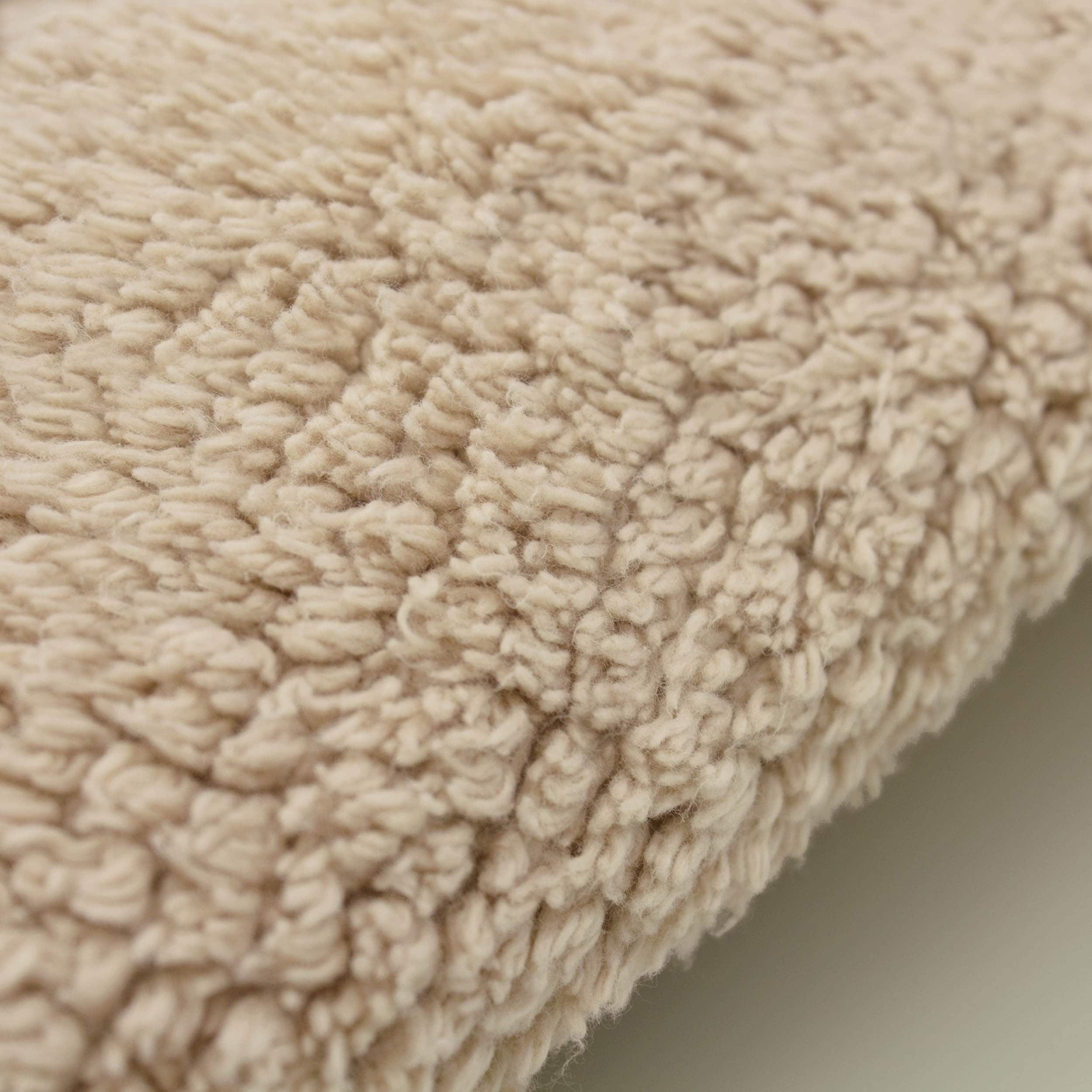 Laura Ashley Reversible Cotton Crochet 21 X 34 In. Bath