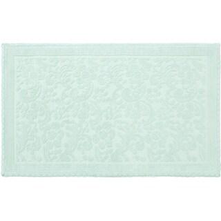 Jean Pierre Turkish Cotton Crochet 21 x 34 in. Bath Rug
