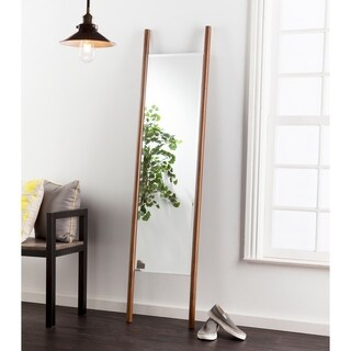 Holly & Martin Swain Leaning Mirror - Dark Tobacco - dark tobacco