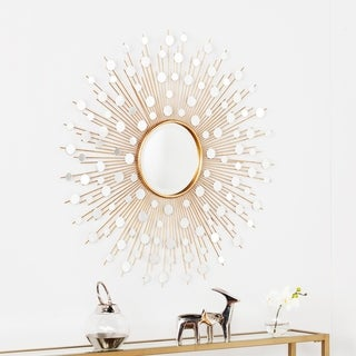 Harper Blvd Sayres Glam Starburst Wall Mirror - Gold