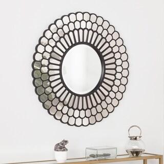 Harper Blvd Tanterra Geometric Decorative Wall Mirror - Black