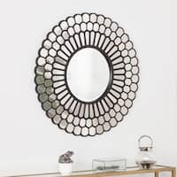 The Curated Nomad Lotta Geometric Decorative Wall Mirror