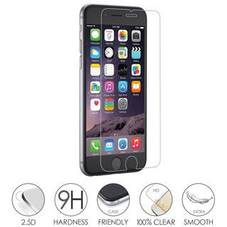 2 Pack Tempered Glass Screen Protector for iPhone 5/6/6plus/7/7Plus (More options available)